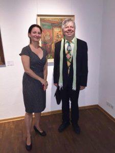 mit dem Verleger und Exilkunstsammler Thomas B. Schumann